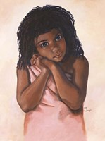 Black Girl Fine Art Print