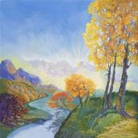 Autumn River Fine Art Print
