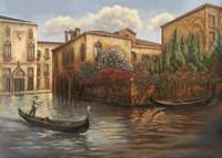 Gondola I Fine Art Print