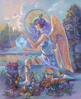 Guardian Angel Of The World Fine Art Print