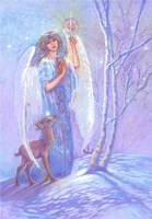 Guardian Angel Of Winter Fine Art Print