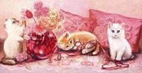 Three Kittens Fine Art Print