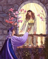 Romeo And Juliet's Balcony Fine Art Print
