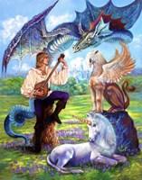 Song Of Fantasy Fine Art Print