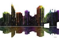 Cincinnati Ohio Skyline BW 1 Fine Art Print