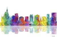 Orlando Florida Skyline 1 Fine Art Print