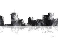 New Orleans Louisiana Skyline BG 1 Fine Art Print