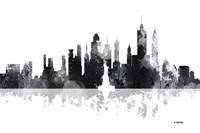 New York New York Skyline BG 1 Fine Art Print