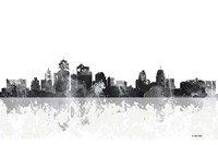 Kansas City Missouri Skyline Fine Art Print