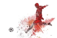 Soccer Player 1 Fine Art Print