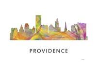 Providence Rhode Island Skyline Fine Art Print