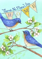 Home Blue Birds Fine Art Print