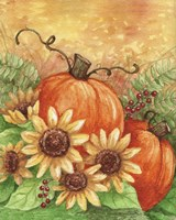 Sunflowers Autumn Fine Art Print
