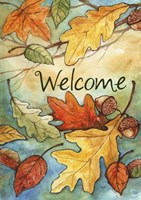 Welcome Leaves Fine Art Print