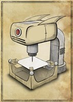 Machine 2 Fine Art Print