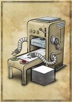 Printer Fine Art Print