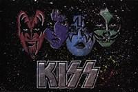 KISS - Face Off Multi Color Fine Art Print