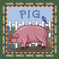Apple Pig Fine Art Print