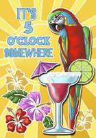 Five O'clock 1 Fine Art Print
