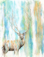 Deer Tree Fine Art Print
