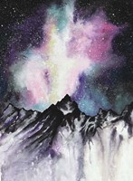 Starruption Galaxy Landscape Fine Art Print