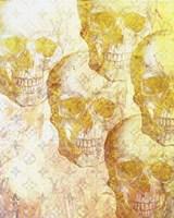 Gold Skulls Fine Art Print