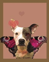 Butterfly Dog 2 Fine Art Print