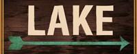 Lake Sign 2 Fine Art Print