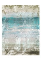 Aqua Space 1 Contemp 1 Fine Art Print