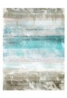 Aqua Space II Contemp 2 Fine Art Print