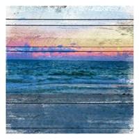 Beach Blues 2 Fine Art Print