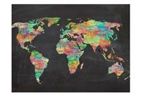 World Chalk Kids Fine Art Print