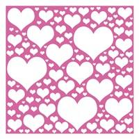 Pink Heart Storm Fine Art Print