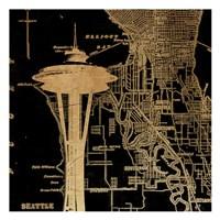 Needle Map Fine Art Print