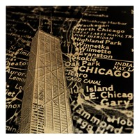 Chi Map Fine Art Print