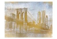 Golden Lets Cross Fine Art Print