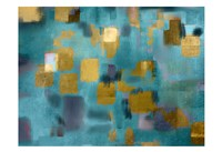 Squared Blue Fine Art Print