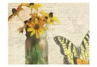 Carte Postale Sunflowers Fine Art Print