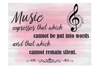 Music Expresses Fine Art Print