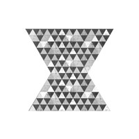 Geo Triangle 2 Framed Print
