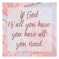 If God Fine Art Print