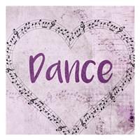 Music Dance Framed Print