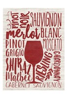 Wine Types Fine Art Print