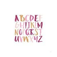 Girl Upper Letters Fine Art Print