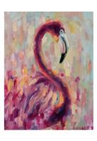 Flamingo Bliss 1 Fine Art Print