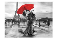 French Kissing Fine Art Print