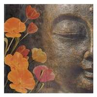 Floral Zen 1 Fine Art Print