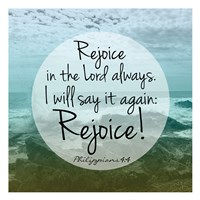 Rejoice Always Fine Art Print