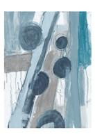 Blue Points III Fine Art Print