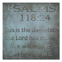 Be Glad In It Psalms Fine Art Print
